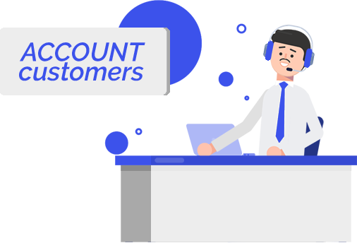 Account customers