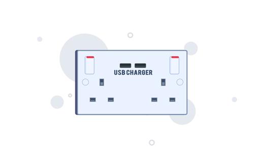 USB Socket Installation
